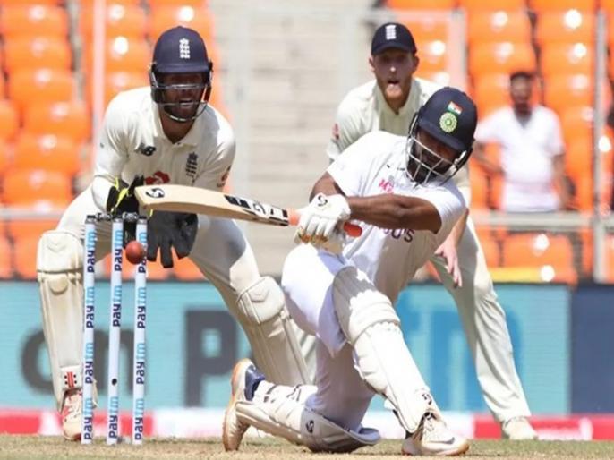 India vs England 4th Test indian player face problem in Narendra Modi Stadium Ahmedabad | IND vs ENG: अर्धशतक से चूके रोहित शर्मा, टी-ब्रेक तक आधी टीम लौटी पवेलियन, मुश्किल में टीम