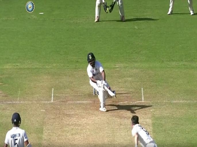 Rishabh Pant outrageous reverse sweep off James Anderson stuns England cricketers WATCH VIDEO | IND vs ENG: ऋषभ पंत ने जेम्स एंडरसन की गेंद पर मारा हैरतअंगेज शॉट, वीडियो देख हैरान रह गए सभी