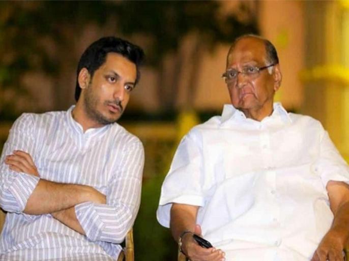 Day after being rebuked, Parth meets Sharad Pawar | सुशांत मौत मामले में सीबीआई जांच की मांग करने के बाद पार्थ ने शरद पवार से की मुलाकात, NCP प्रमुख ने बताया था अपरिपक्व