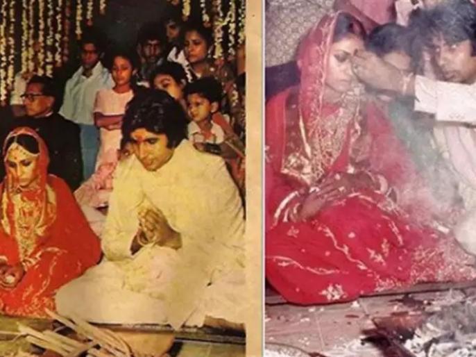 amitabh bachchan shares his wedding story with jaya bachchan | Amitabh Jaya Wedding Anniversary: आज से 47 साल पहले दूल्हा-दुल्हन बने थे अमिताभ-जया, वेडिंग एल्बम के साथ शेयर किया शादी का सीक्रेट