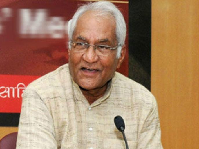 Announcement of Murti Devi Award to Vishwanath Tiwari, former president of Sahitya Akademi | साहित्य अकादमी के पूर्व अध्यक्ष विश्वनाथ तिवारी को मूर्ति देवी पुरस्कार देने की घोषणा