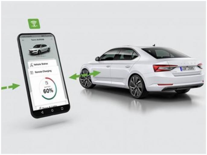 Skoda electric cars can now start stop charging remotely via Amazon Alexa | अब सिर्फ बोलने से चार्ज हो जाएगी स्कोडा की इलेक्ट्रिक कार, अमेजन के एलेक्सा का कमाल