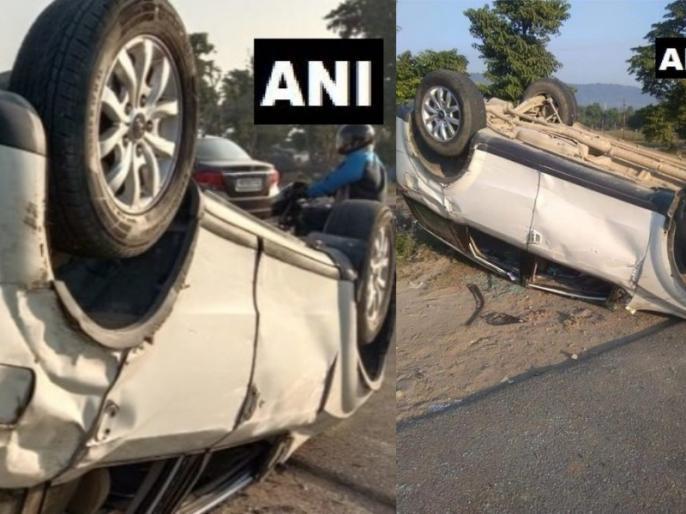 BJP MP from Garhwal, Tirath Singh Rawat's car an accident near Bhimgoda-Pant Deep Uttarakhand | उत्तराखंड: बीजेपी सांसद तीरथ सिंह रावत कार एक्सीडेंट में घायल, अस्पताल में भर्ती