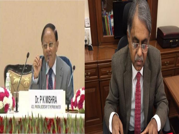 PK Mishra takes charge as Principal Secretary to Prime Minister Narendra Modi and PK Sinha appointed as the Principal Advisor   जानिए कौन हैं पीएम मोदी के नए नियुक्त किए गए प्रधान सचिव पीके मिश्रा और प्रमुख सलाहकार पीके सिन्हा