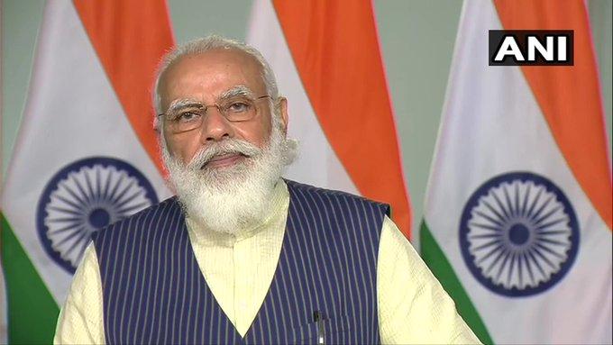 Grand Challenges Annual Meeting 2020PM Narendra Modi recovery rates of 88%lockdown   Grand Challenges Annual Meeting:भविष्य इनोवेशन में निवेश करने वालों का होगा, पीएम बोले-भारत में रिकवरी रेट 88%