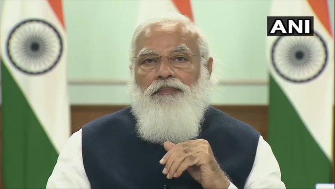 pmNarendra ModiNITI Aayog CMs attended 6th meeting Governing Council economy delhi | प्रधानमंत्री मोदी बोले-मजबूत आर्थिक वृद्धि के लिए केंद्र और राज्यों का मिल कर काम करना जरूरी
