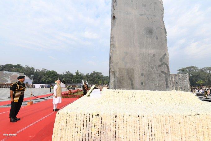 Police Commemoration DayVice President M Venkaiah NaiduPMNarendra Modihomage to all police personnel | Police Commemoration Day:उपराष्ट्रपति नायडू और पीएम मोदी ने किया याद,बलिदान देने वाले पुलिसकर्मियों को यह देश कभी नहीं भूलेगा