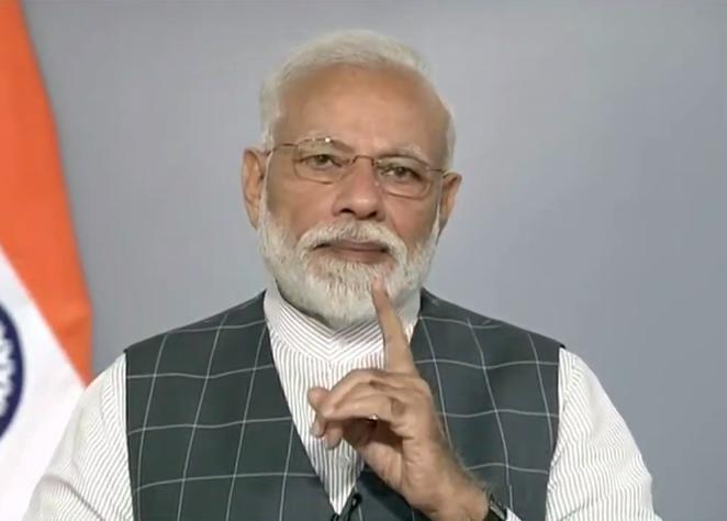 PM Modi via video-conferencing at Global Potato Conclave 2020, in Gandhinagar | Global Potato Conclave 2020: पीएम मोदी ने कहा- आलू के उत्पादन में गुजरात नंबर वन, 2022 तक किसानों की आय दोगुनी करने का लक्ष्य