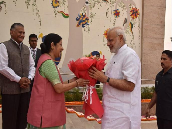PM Narendra Modi Remembering Sushma Swaraj on her 68 birthday   पीएम मोदी ने सुषमा स्वराज को उनके जन्मदिन पर किया याद, अपने साथ की तस्वीर शेयर कर लिखी ये बात