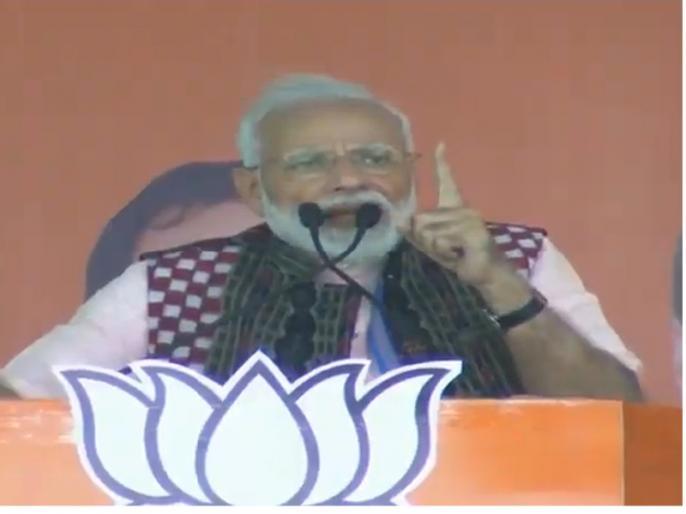 lok sabha election: PM Modi addresses public meeting at Sambalpur Odisha and attacks on congress and bjd | ओडिशा में PM मोदी ने कहा, जात-पात के आधार पर कांग्रेस और BJD की रही है भेदभाव करने की उपलब्धि
