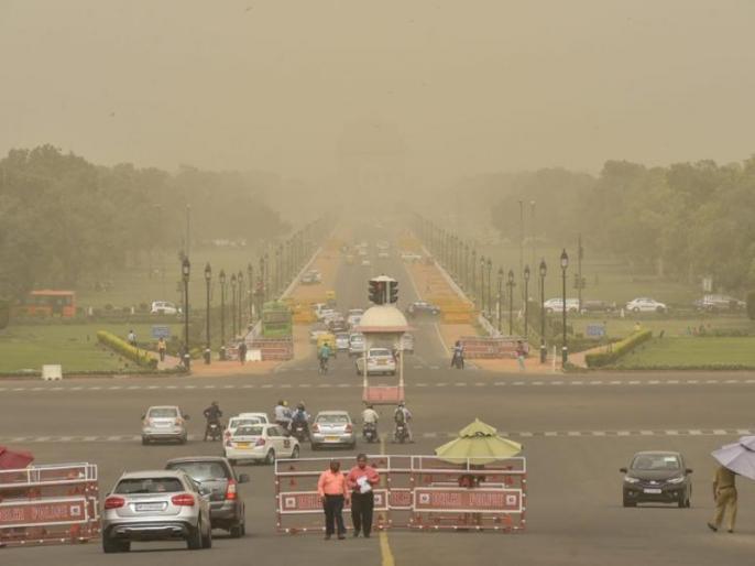 Delhi's air quality, minor improvement, now reached the 'extremely bad' category | दिल्ली की वायु गुणवत्ता में मामूली सुधार, 'खतरनाक' से पहुंची 'बेहद खराब' श्रेणी पर