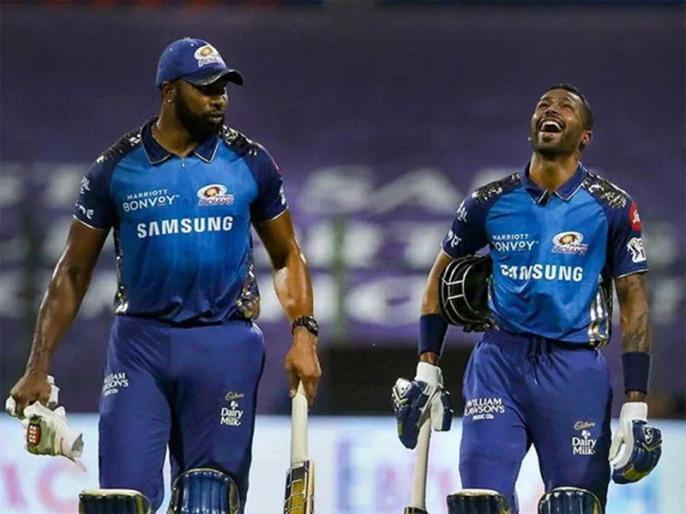 IPL 2021 CSK vs MI Chennai Super Kings lost match keron pollard help win mumbai | IPL 2021: किरोन पोलार्ड की धमाकेदार पारी, 34 गेंदों में जड़े 87 रन, मुंबई ने चेन्नई को 4 विकेट से हराया
