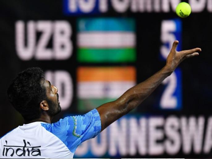 Prajnesh Gunneswaran rises to career-best 97 in ATP rankings | एटीपी रैंकिंग में पहली बार टॉप 100 में पहुंचे भारतीय टेनिस खिलाड़ी प्रजनेश गुणेश्वरन