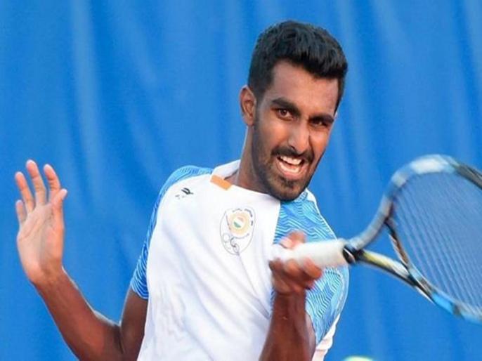 Prajnesh Gunneswaran's father passes away | शादी के कुछ दिन पहले टेनिस खिलाड़ी प्रजनेश ने पिता को खोया, 2013 से चल रहे थे बीमार