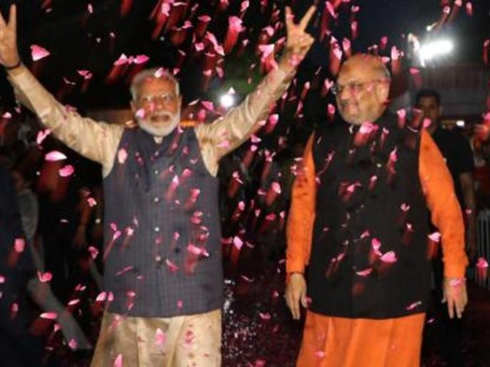 bjp get little majority in rajya sabha | भाजपा को राज्य सभा में 'कामचलाऊ बहुमत', पार्टी के 75 सांसद के साथ 50 अन्य का समर्थन