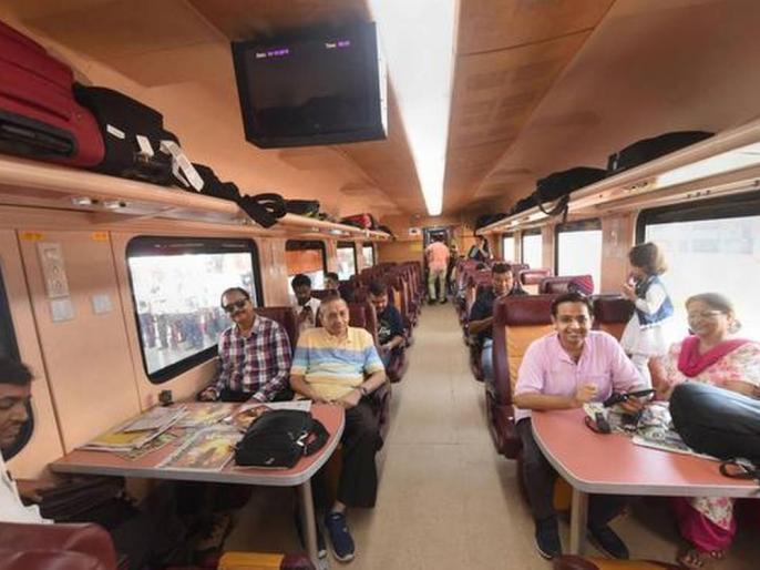 IRCTCPrivate Tejas trains operational from October 17 on Lucknow-New Delhi and Ahmedabad-Mumbai route | आईआरसीटीसीः17 अक्टूबर सेनिजी तेजस ट्रेनों का परिचालन,लखनऊ-नई दिल्ली और अहमदाबाद-मुंबई मार्ग पर