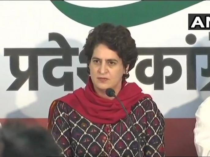 Congress may presenting Priyanka Gandhi as Chief Minister face in Uttar Pradesh! | प्रियंका गाँधी को उत्तर प्रदेश में मुख्यमंत्री पद के चेहरे के तौर पर पेश करने पर कांग्रेस में मंथन!