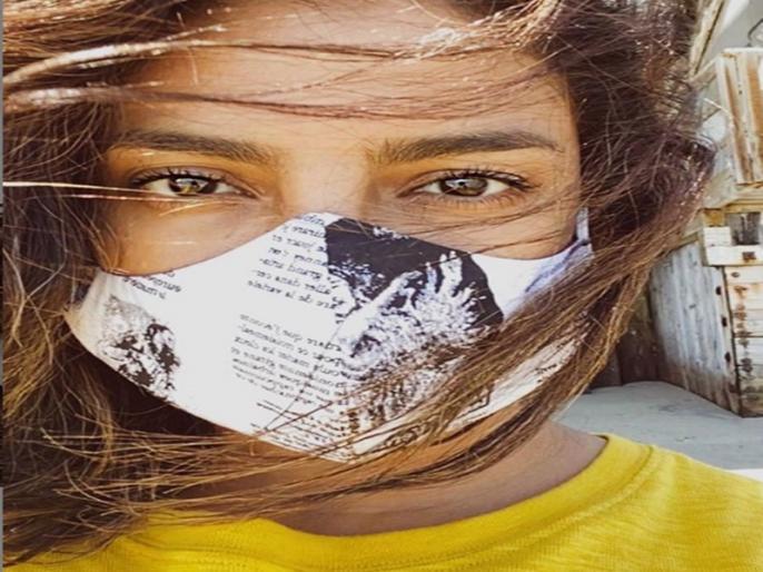 Priyanka Chopra shares a mask clad Photo as she steps out for the first time in 2 months | दो महीने बाद घर से बाहर निकलीं प्रियंका चोपड़ा, तस्वीर शेयर कर कही यह बात