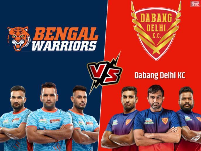 Pro Kabaddi League 2019, Dabang Delhi vs Bengal Warriors Final Match, Live Score Updates and Live streaming   PKL 2019, Dabang Delhi vs Bengal Warriors Final Match: नवीन कुमार की मेहनत पर फिरा पानी, बंगाल ने पहली बार जीता खिताब