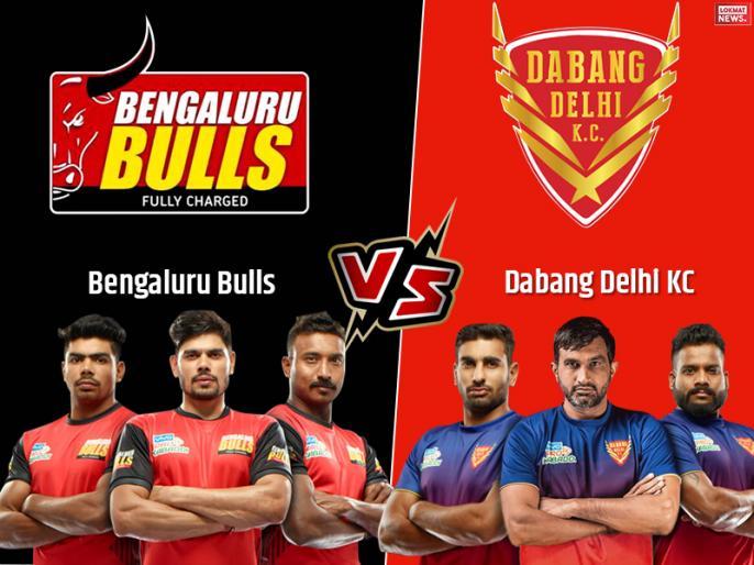 PKL 2019, Bengaluru Bulls vs Dabang Delhi, Semi Final 1, Live Score Updates and Live Streaming: | PKL 2019, Bengaluru Bulls vs Dabang Delhi, Semi Final 1: बेंगलुरु बुल्स को 48-38 से हराकर दिल्ली पहली बार फाइनल में