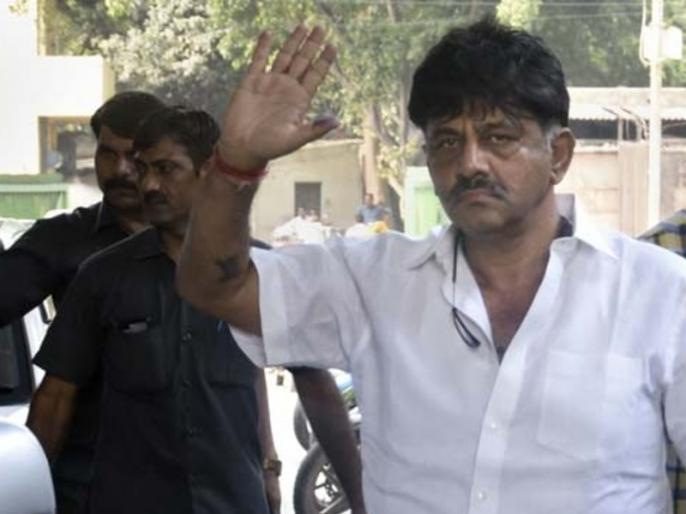 Don't Come To Delhi, DK Shivakumar's Appeal To His Supporters   कांग्रेस नेता शिवकुमार की समर्थकों से दिल्ली न जाने की अपील, पेशी के दौरान अदालत में घुस गये थे समर्थक