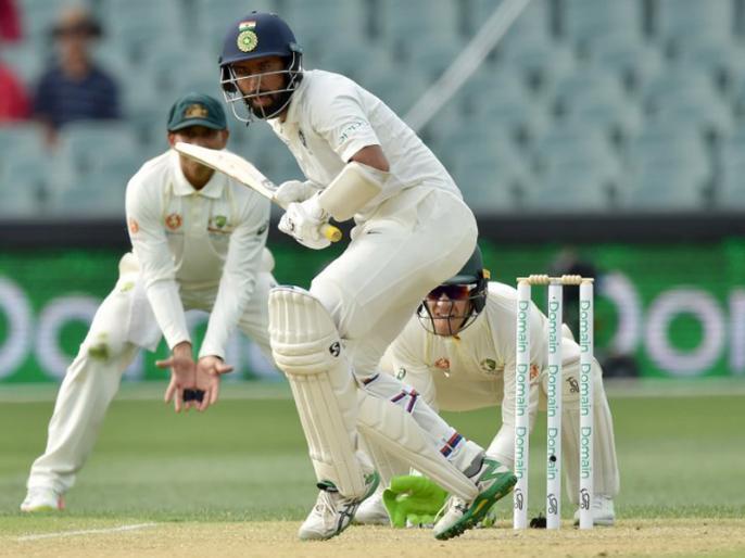 Ind vs Aus, 1st Test: India lead by 166 runs against Australia after 3rd day Stumps | Ind vs Aus, 1st Test: तीसरे दिन ऑस्ट्रेलिया के खिलाफ भारत को 166 रनों की बढ़त, पुजारा 40 रन बनाकर क्रीज पर मौजूद