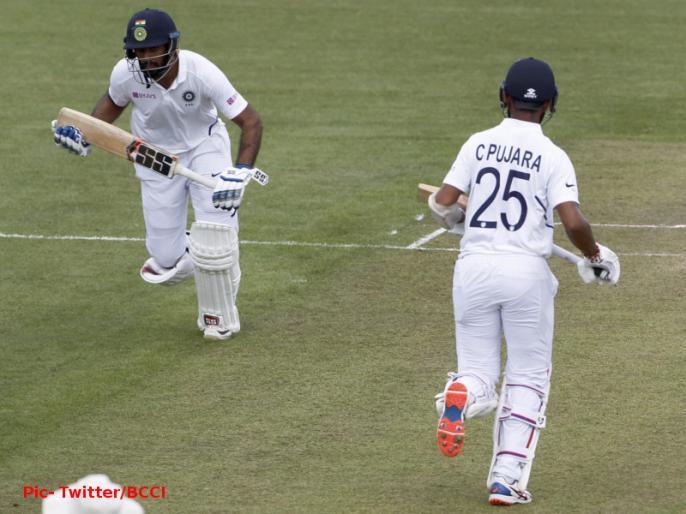 Ind vs NZ XI: India vs New Zealand | Hanuma Vihari Hits Ton as Top order fail on Day 1 of Practice Game | Ind vs NZ: टीम इंडिया की ओपनिंग जोड़ी हुई फेल, हनुमा विहारी-पुजारा की शानदारी पारी के बावजूद 263 रन पर ऑल आउट हुई टीम