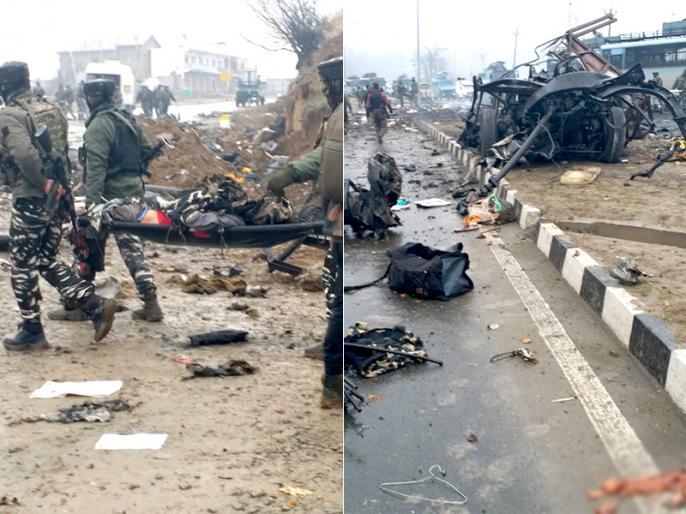 Pulwama: IED blast followed by gunshots in Goripora area of Awantipora LIVE News upadates   पुलवामा हमला: मरने वालों की संख्या हुई 44, 40 घायल, पुलिस ने जारी किया शहीदों का नाम