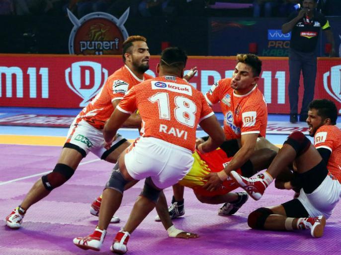 Pro Kabaddi League 2019: Puneri Paltan vs Gujarat Fortune Giants Match Preview and Team Analysis | Pro Kabaddi: गुजरात के खिलाफ घरेलू लेग की शुरुआत करेगी पुणे की टीम, इन खिलाड़ियों पर होगी नजर