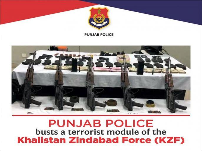 Punjab: Over 5000 police personnel deployed for search operation after Terrorist attack apprehension   पंजाब: पाकिस्तान से सटे इन जिलों में आतंकी हमले की आशंका, 5000 पुलिसवाले जांच अभियान में तैनात