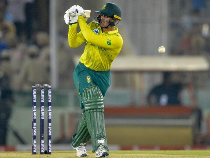 Ind vs SA, 2nd T20: South Africa post 149 runs against India in 2nd T20 | Ind vs SA, 2nd T20: क्विंटन डी कॉक ने जमाया अर्धशतक, भारत को जीत के लिए बनाने होंगे 150 रन