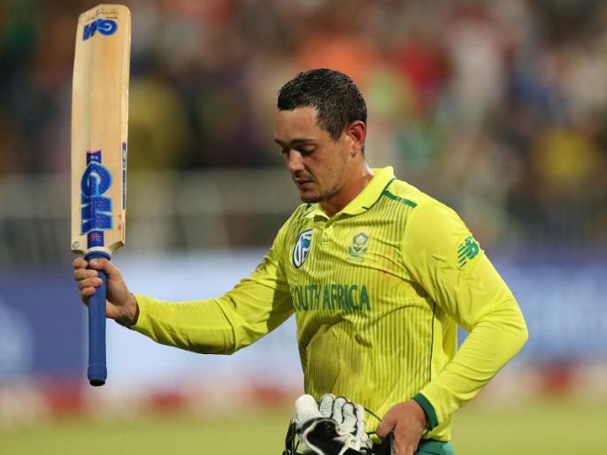 Quinton de Kock break Ab de Villiers hits quickest 50 for South Africa in T20Is | क्विंटन डी कॉक ने खेली तूफानी पारी, तोड़ डाला एबी डिविलियर्स का यह बड़ा रिकॉर्ड