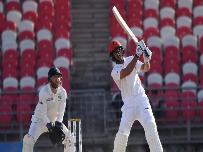 Rahmat Shah becomes first Afghanistan player to make a half-century during only test vs Ireland | AFG vs IRE: दो रन से पहला टेस्ट शतक चूका ये अफगानी बल्लेबाज, फिर भी रच दिया नया इतिहास