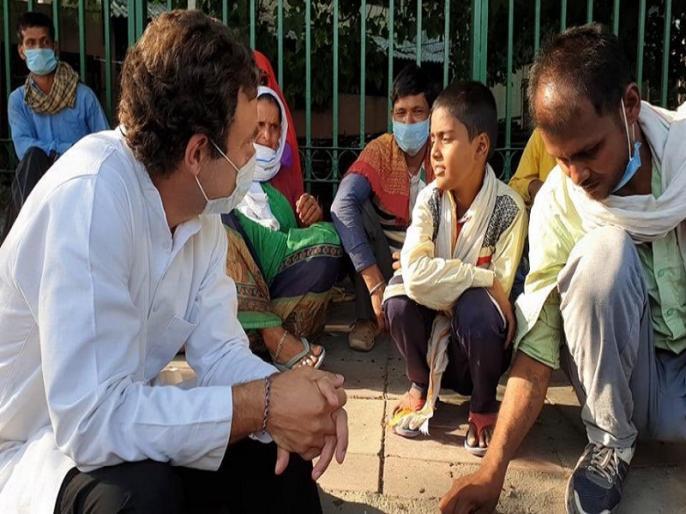 rahul gandhi relase video with migrants chat on youtube channel see video | राहुल गांधी ने मजदूरों से मुलाकात के बाद वीडियो जारी कर बताई उनके हौसले और दर्द की कहानी, ट्वीट कर लिखी ये बात