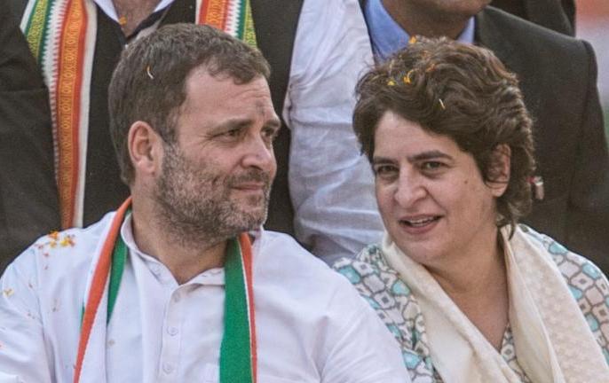 "congress Attack Modi-Yogi Priyanka-Rahul 'Sell government company' ""Ease of Doing Crime"" | मोदी-योगी पर बोला हमला,प्रियंका-राहुल की जोड़ी ने कहा-'सरकारी कंपनी बेचो',""ईज़ऑफ़ डूइंगक्राइम"""