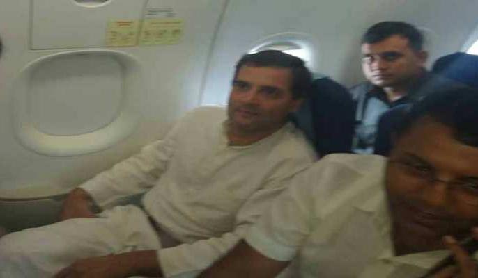 Rahul Gandhi Raipur visit flight late blame PM Modi | जब फ्लाइट में देरी पर बोले राहुल गांधी- मोदी जी बदनाम करने के लिए करवा रहे हैं