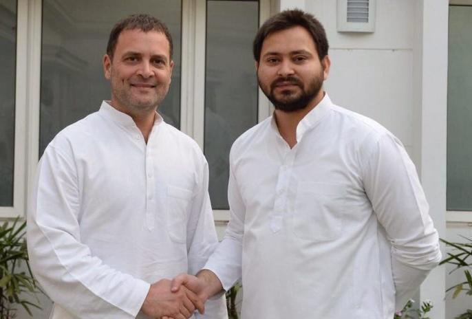 LOK SABHA ELECTION 2019: Mahagathbandhan in Bihar has been scattered, RJD vs congress and Tejaswi Yadav tweets | लोकसभा चुनाव 2019: बिहार में महागठबंधन टूट की कगार पर, कांग्रेस और आरएलएसपी अपनी मांग पर अड़े