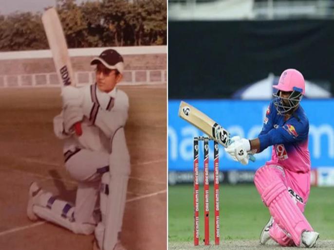 rajasthan royals star Rahul Tewatia shares throwback picture on social media | IPL 2020: राजस्थान के लिए बल्ले और गेंद से धमाल मचाने वाले राहुल तेवतिया ने शेयर की थ्रोबैक तस्वीर, जमकर हो रहा वायरल