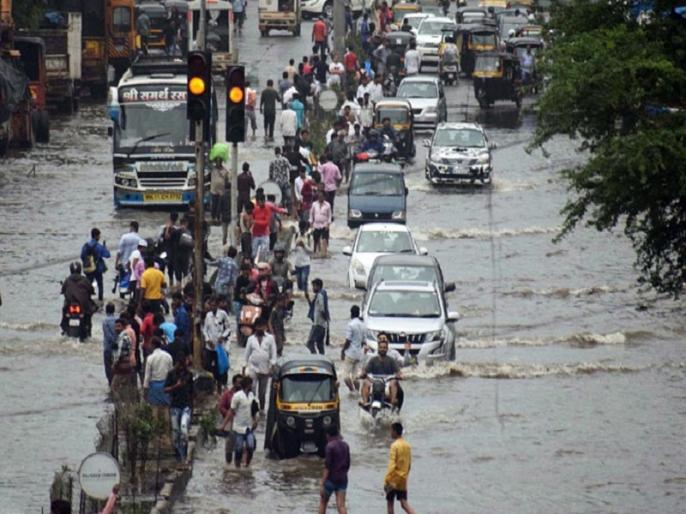 weather alert Today Live Updates IMD forecasts extremely heavy' rainfall Mumbai know india Weather | मुंबई में भारी बारिश का रेड अलर्ट, बिहार में बाढ़ से 6 और लोगों की मौत, जानें पूरे देश के मौसम का हाल