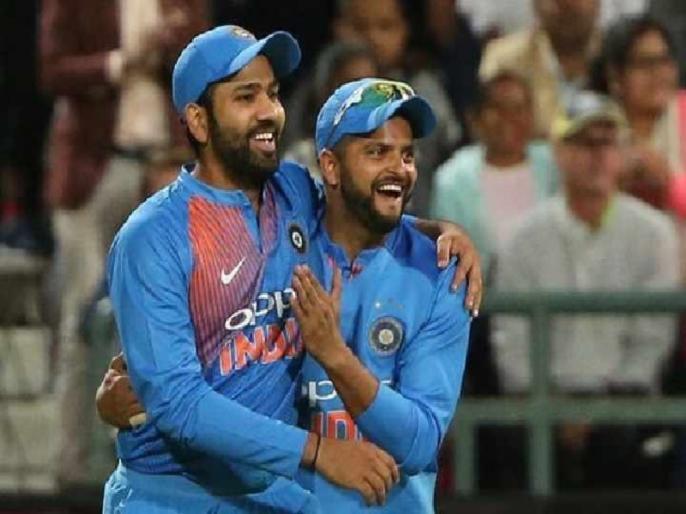 Rohit Sharma captaincy is very similar to MS Dhoni, Says Suresh Raina | सुरेश रैना ने की रोहित शर्मा के कूल अंदाज की तारीफ, कहा, 'उनकी कप्तानी धोनी जैसी'