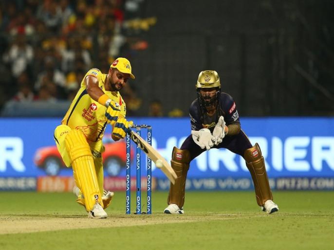 IPL 2019, KKR vs CSK IPL Cricket Score, Live blog, Match Facts, Updates, Highlights, Scorecard, Eden Gardens, IPL Match Today   IPL 2019, KKR vs CSK: सुरेश रैना की शानदार बल्लेबाजी, चेन्नई ने 5 विकेट से दर्ज की जीत