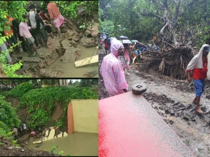 Heavy rain warning in 20 districts of Madhya Pradesh Yellow alert issued | मध्य प्रदेश के 20 जिलों में भारी बरसात की चेतावनी,येलो अलर्ट जारी