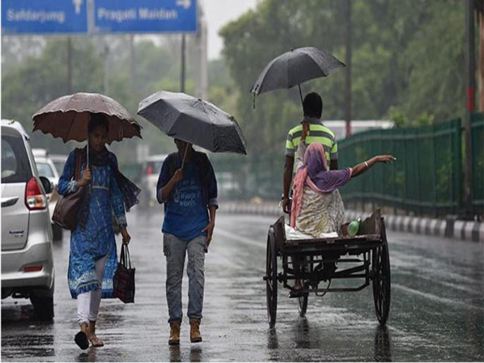 Madhya Pradesh Weather update MP Rainfall continues warning heavy rain 11 districts | एमपी में मौसम अपडेटः बरसात जारी,11 जिलों में भारी वर्षा की चेतावनी