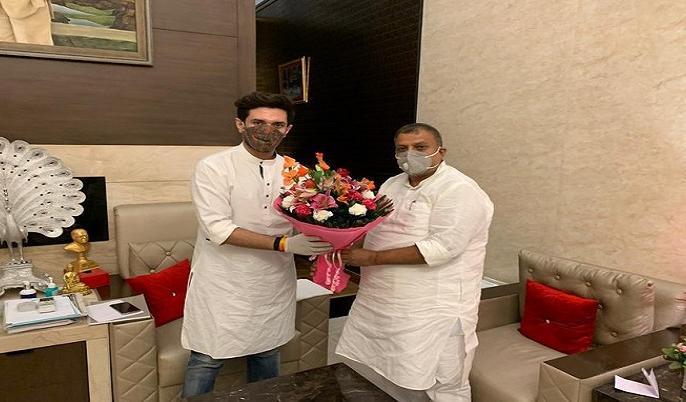 Bihar Elections 2020 resultDinara LegislativeBJP rebel Rajendra Singh JDU LJP ahead four thousand votes | दिनारा विधानसभा: भाजपा के बागी राजेंद्र सिंह लोजपा के टिकट पर जदयू को दे सकते हैं पटकनी, चार हजार वोटों से चल रहे हैं आगे