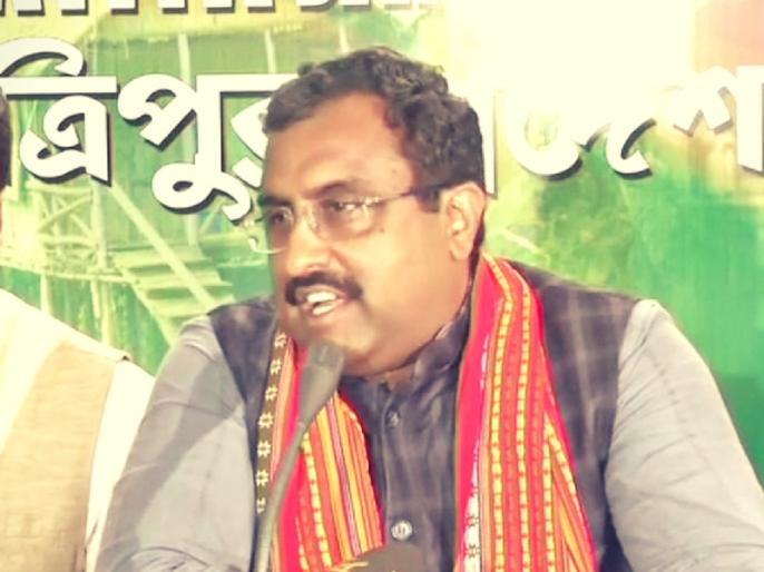 bjp may form government after ram madhav visits kashmir | जम्मू-कश्मीर में अगले महीने सरकार बना सकती है BJP, ऐसे अटकलें हुईं तेज