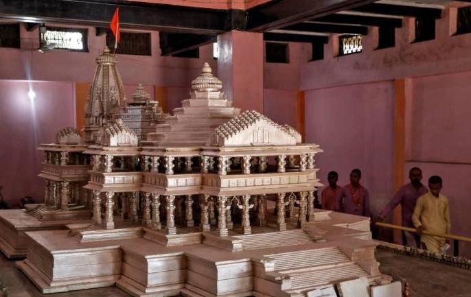 Ayodhya: VHP mass drive for construction of temple | VHPमॉडल होगा भव्य राममंदिर का आधार, ऊंचाई 160 फुट,लोहे का इस्तेमाल नहीं,हर मंजिल पर 106 खम्भे