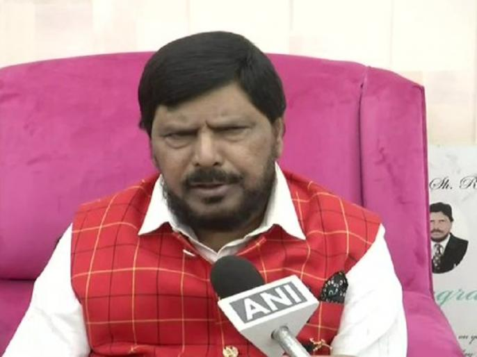 Hathras news in hindi: Ramdas Athawale slams on Mayawati says she is playing politics over the issue | हाथरस रेप कांडः केंद्रीय मंत्री रामदास अठावले ने मायावती को निशाने पर लिया, कहा- वह इस मुद्दे पर कर रही हैं राजनीति