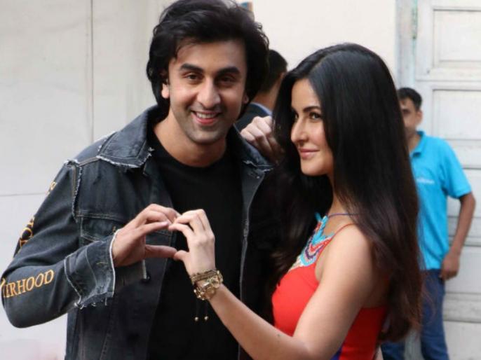 Ranbir Kapoor and Katrina Kaif jagga jasoos promotional event video goes viral | कैटरीना कैफ पर भड़के रणबीर कपूर का वीडियो वायरल