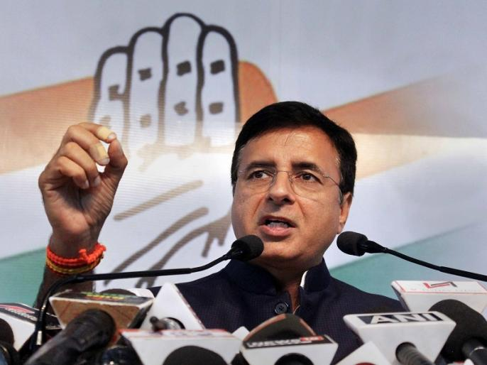 Bihar assembly elections 2020 bjp congress Randeep Singh Surjewala rjd jdu pm modi cm nitish | बिहार विधानसभा चुनावः कांग्रेस ने सीएम नीतीश और पीएम को घेरा,1.25 लाख करोड़ के पैकेज में केवल 1,559 करोड़ का काम