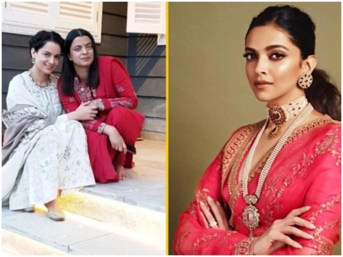 rangoli chandel lashes out at deepika padukone over mental hai kya controversy | दीपिका पादुकोण पर भड़की कंगना रनौत की बहन रंगोली , कहा- करणी सेना मत बनो